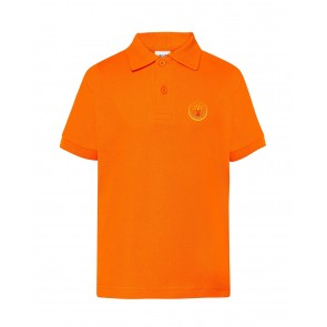 Laste polosärk, oranž