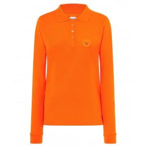 Naiste pikkade varrukatega polosärk, oranž - UUS TOODE!