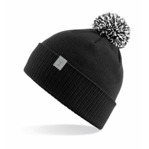 Tutimüts, must+valge