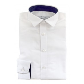 Meeste triiksärk, valge - Ettetellimine!
