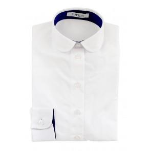 Tüdrukute triiksärk, valge - Ettetellimine!